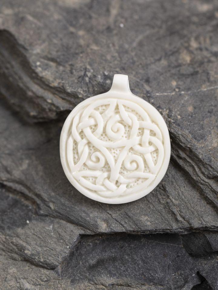 Anhänger Keltische Triskele aus Knochen
