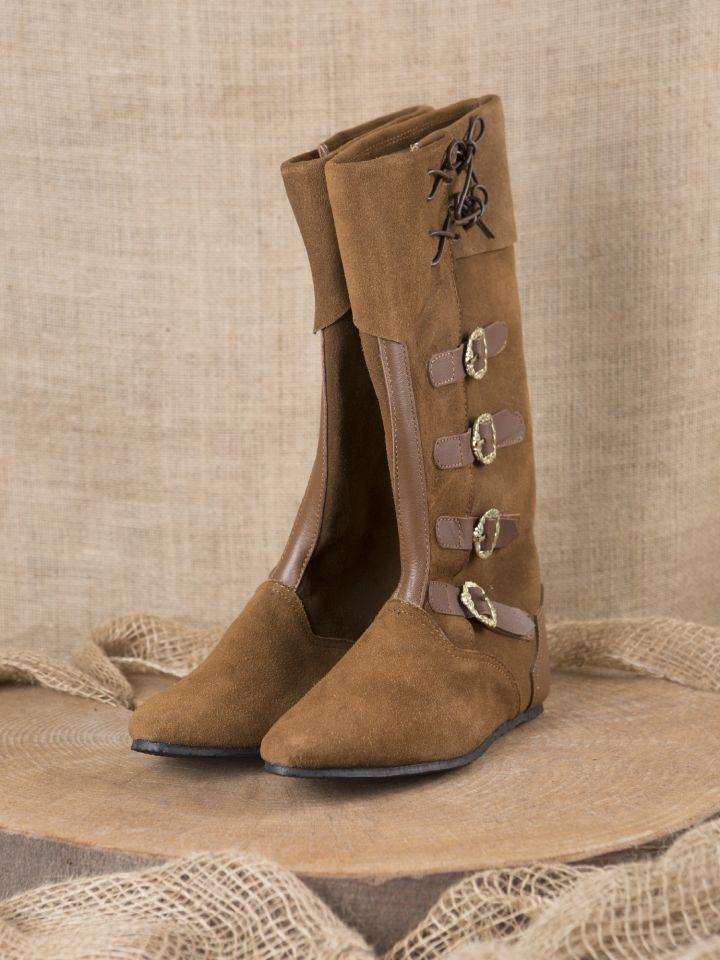 Mittelalter Stiefel Sewolt braun