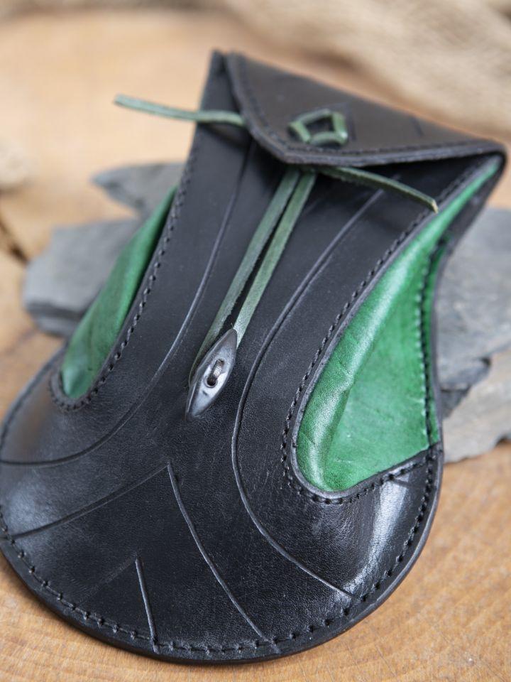 Gürteltasche Elfen schwarz-grün