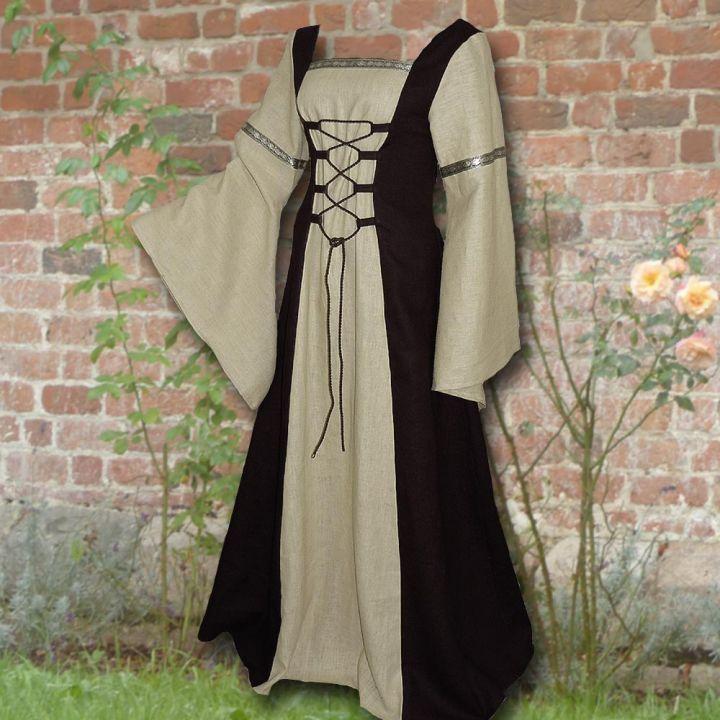 Kleid Elisabeth schwarz-sand