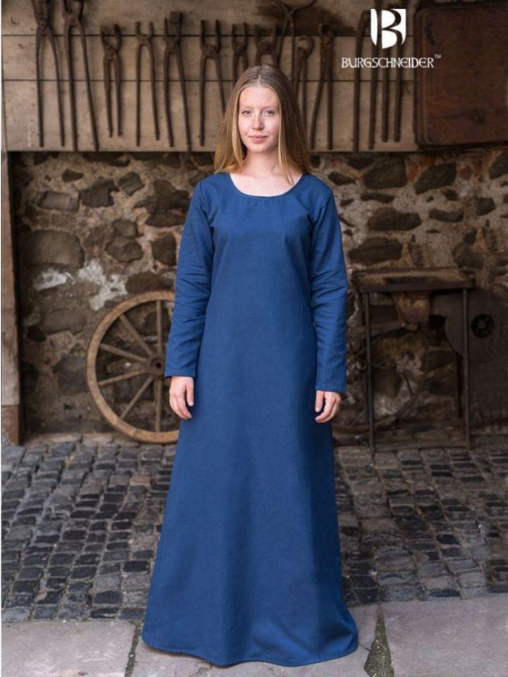 Unterkleid Freya waidblau XXL