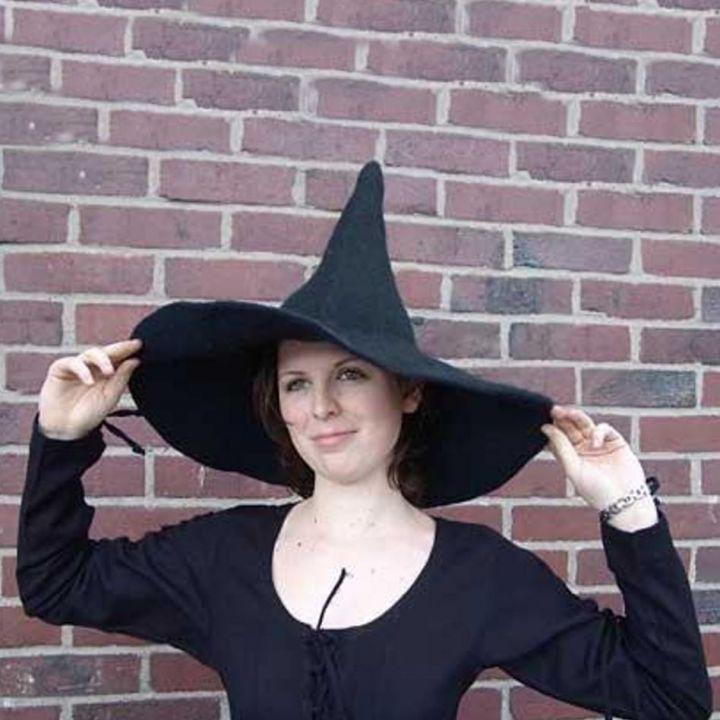 Hexenhut Magierhut schwarz