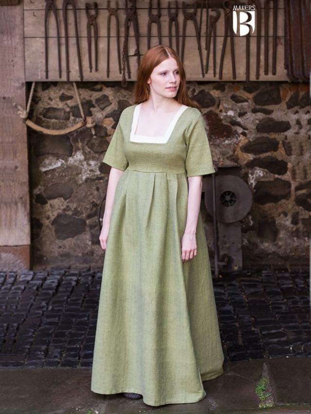 Kleid Frideswinde lindgrün