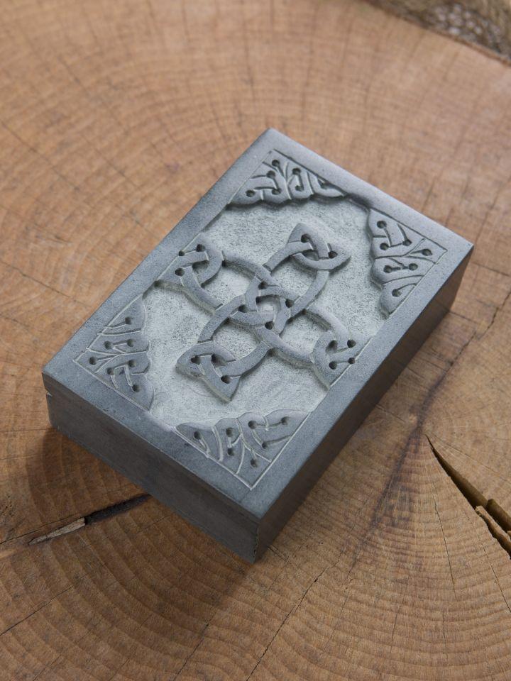 Steintruhe Keltisches Kreuz