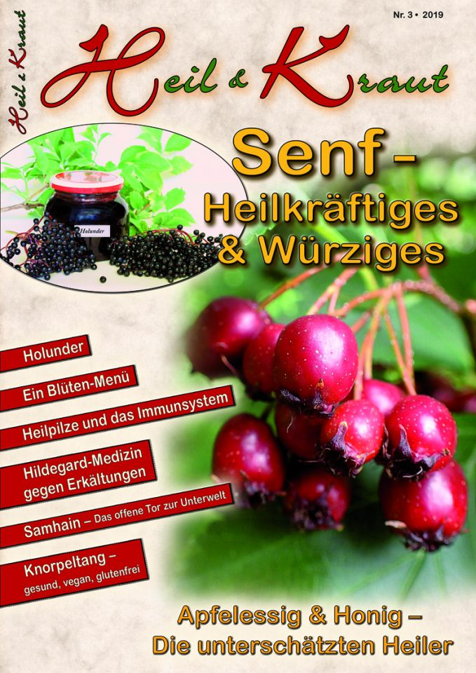 """""""Heil und Kraut"""" Nr. 3 - Herbst 2019"""