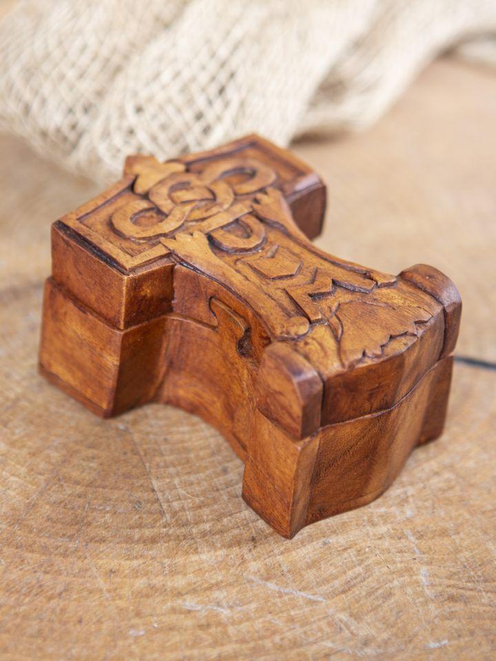 Holzdose Thorshammer