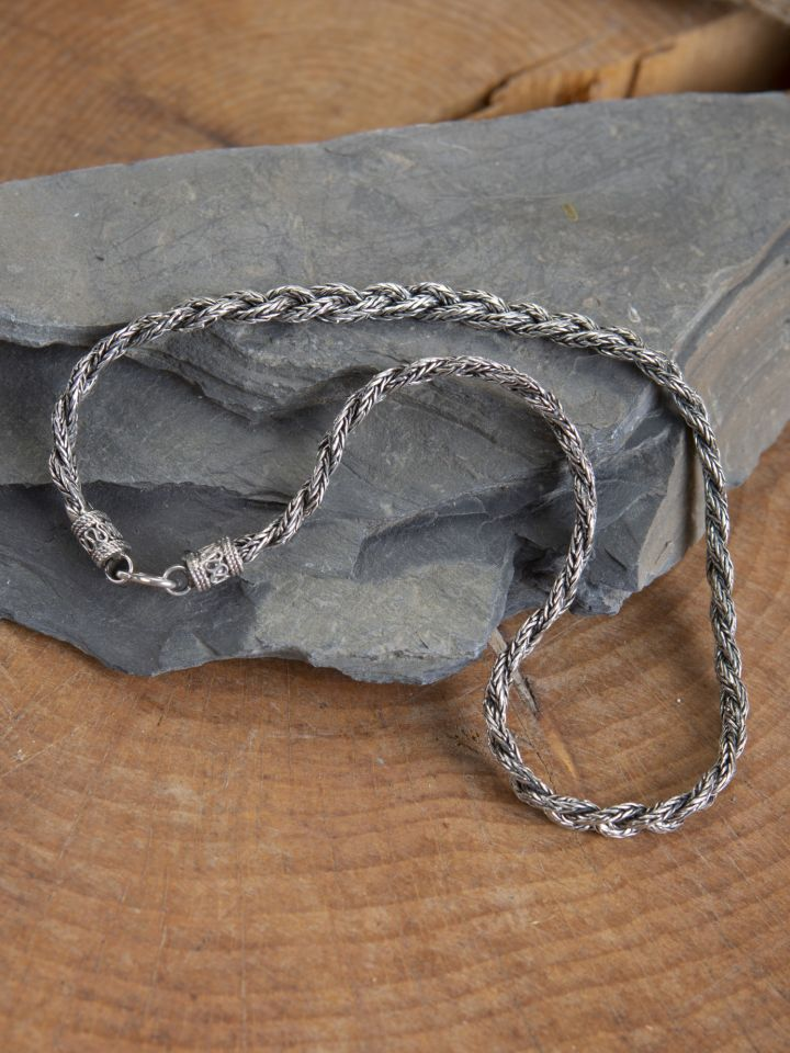 Schwere Wikinger-Halskette 50 cm