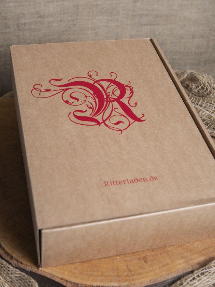 Geschenkbox mit Holzwolle groß
