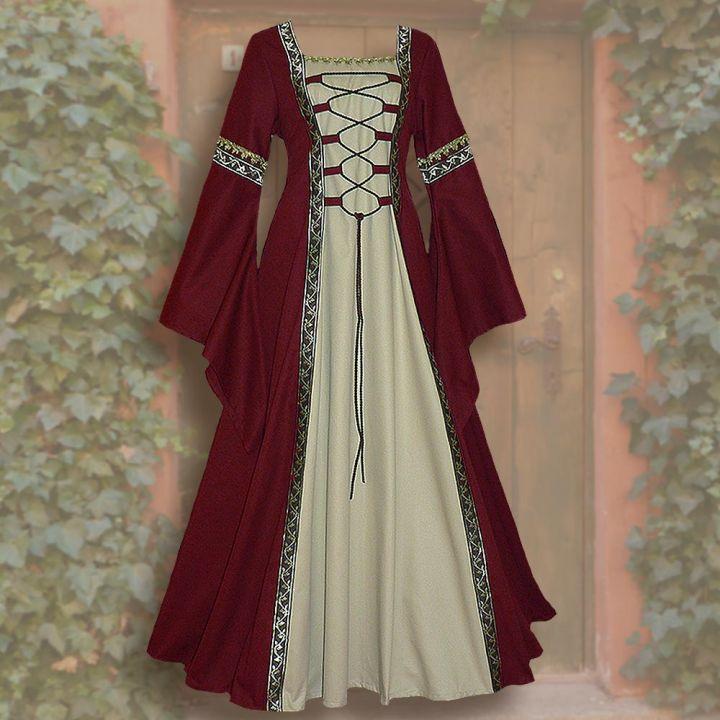 Kleid Iris rot-sand