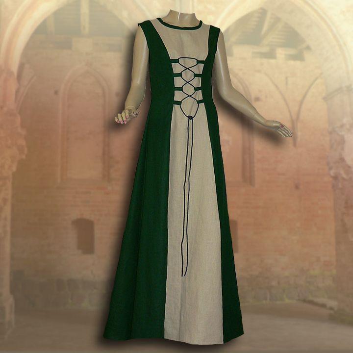 2-teiliges Gewand Isabella grün