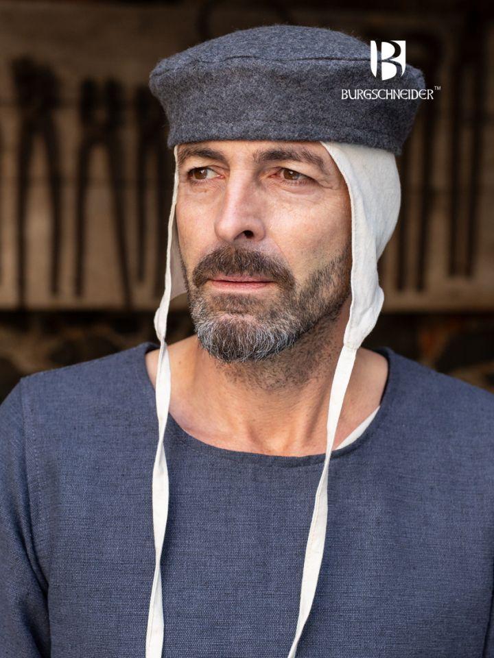 Kappe Hugo Wolle grau