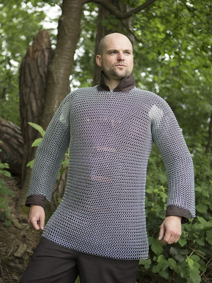 Kettenhemd - unvernietet, verzinkt