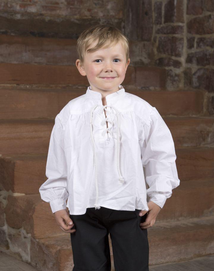 Stehkragenhemd für Kinder