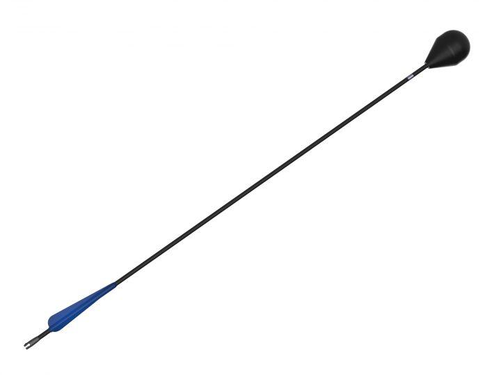 Larp-Pfeil mit blauer Befiederung