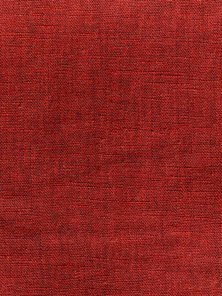 Leinenstoff Meterware - rot