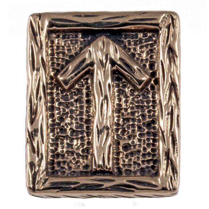 Rune TIWAZ aus Bronze