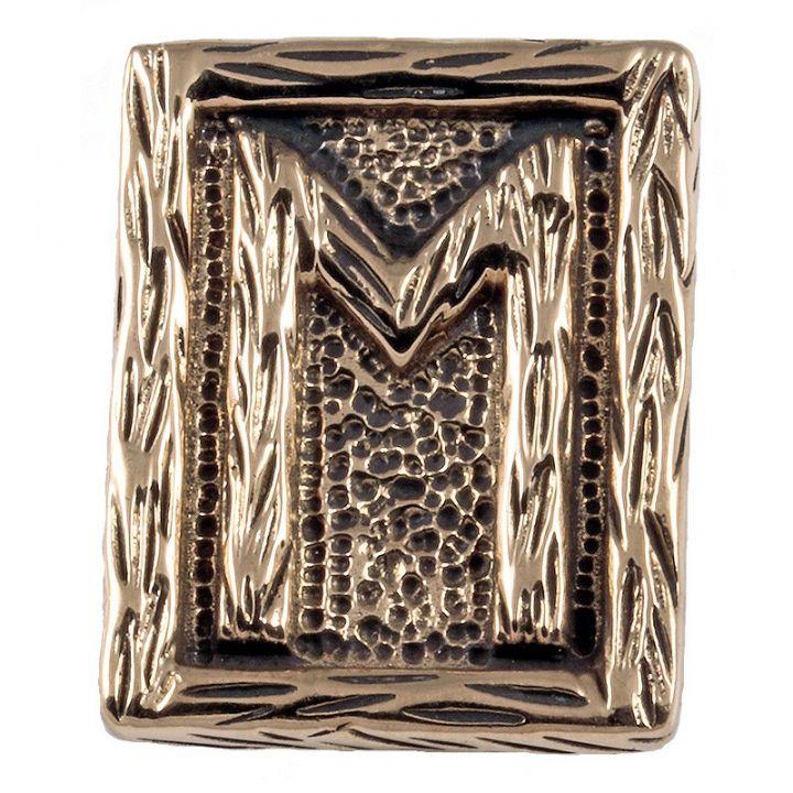 Rune EHWAZ aus Bronze