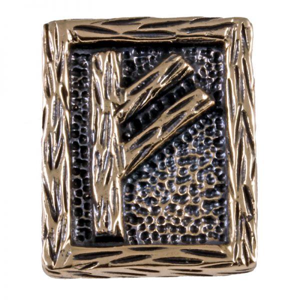 Rune FEHU aus Bronze