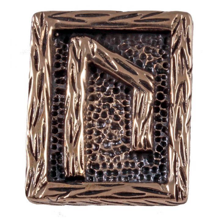 Rune URUZ aus Bronze