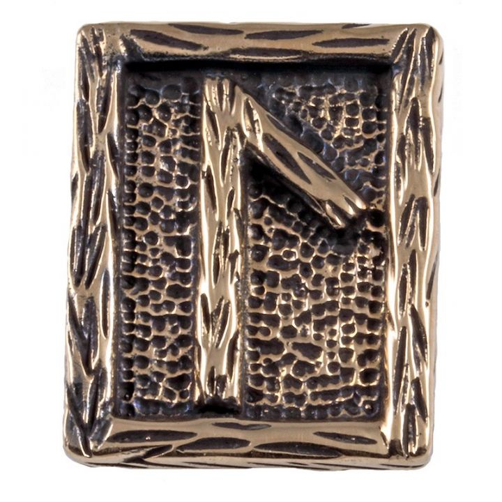 Rune LAGUZ aus Bronze