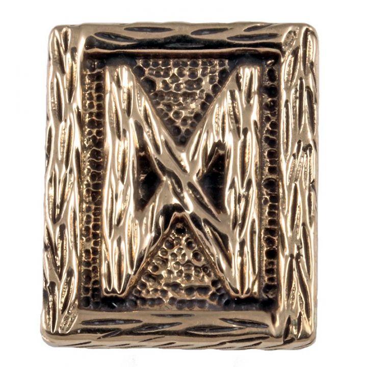 Rune DAGAZ aus Bronze