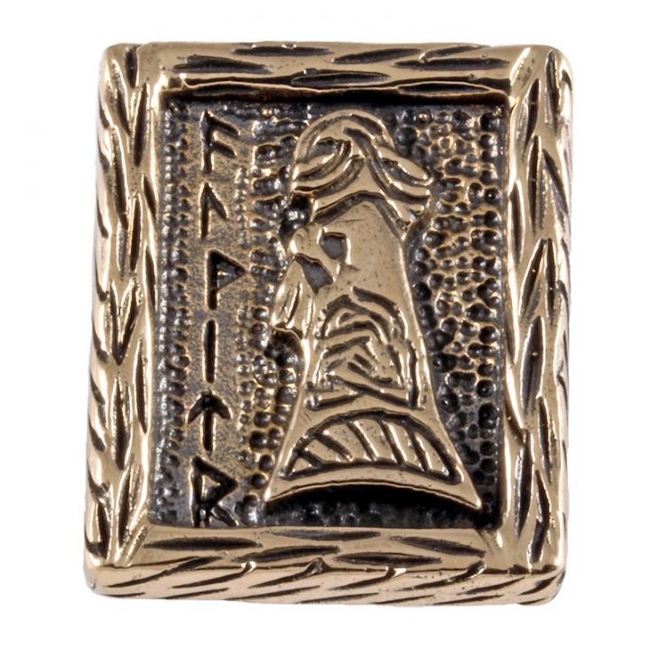 Rune WALKÜRE aus Bronze