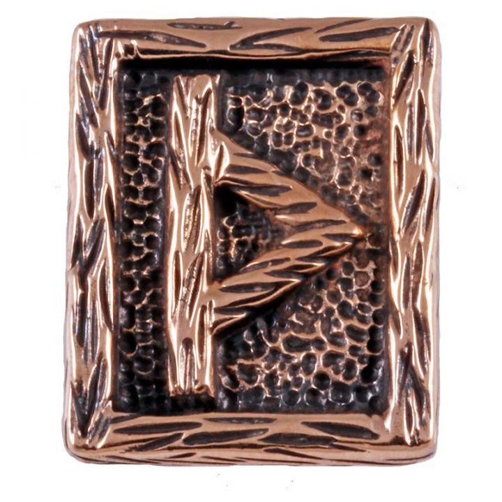 Rune THURISAZ aus Bronze