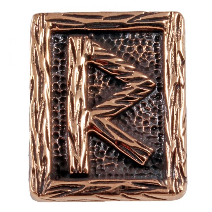 Rune RAIDHO aus Bronze