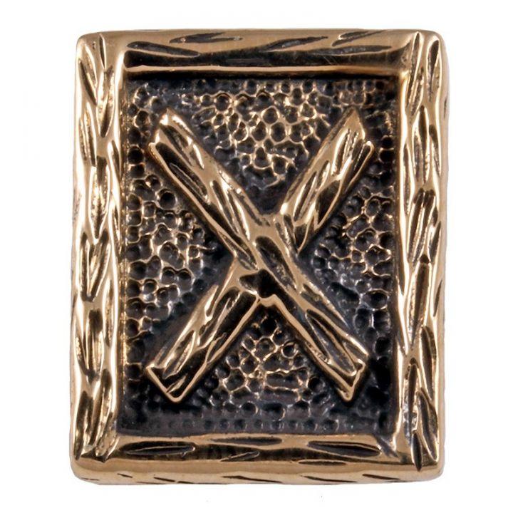 Rune GEBO aus Bronze