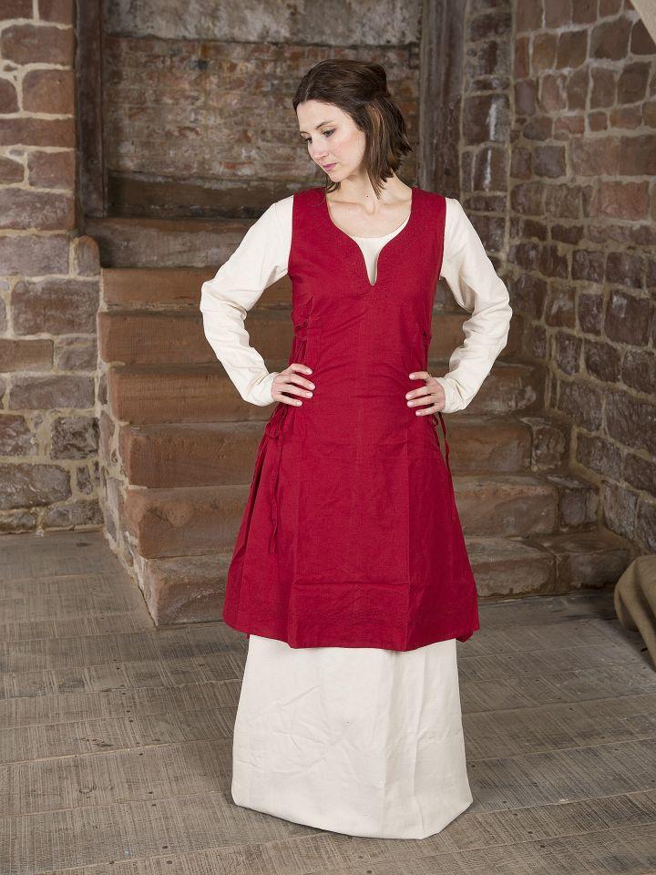 Überkleid Lannion rot
