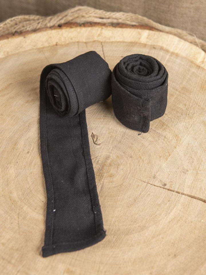 Armwickel in schwarz