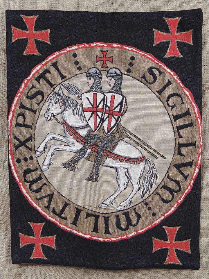 Wandteppich - Siegel der Templer