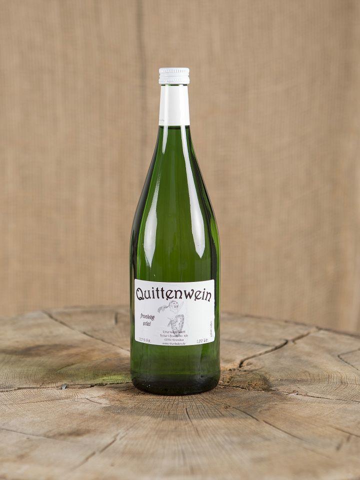 Quittenwein, Normalflasche