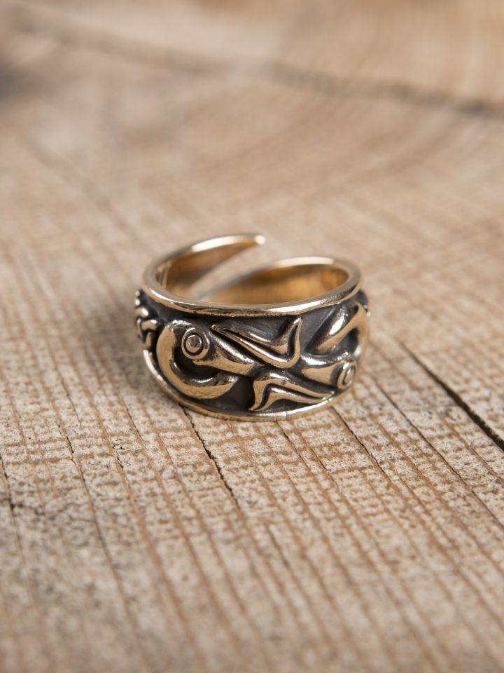 Wikingerring aus Bronze