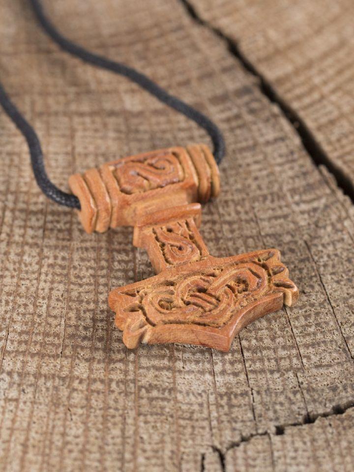 Thorshammer aus Holz