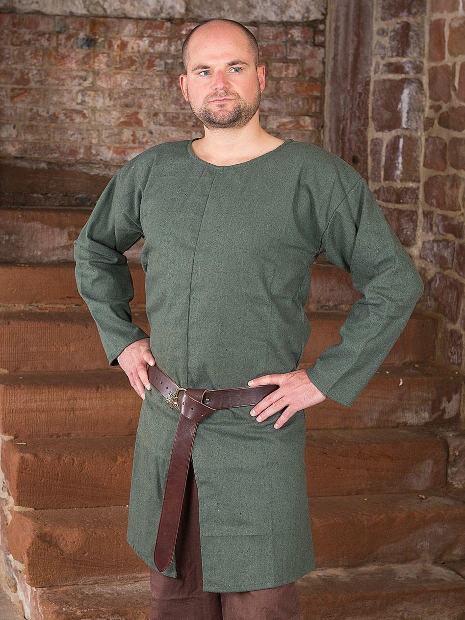 buy popular c0eee 1c5b9 Ritterladen | Einfache Tunika grün | Mittelalter Shop