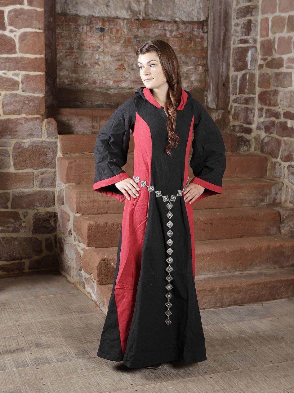 Ritterladen   Kleid Irmgard schwarz rot   Mittelalter Shop fd56febe7f