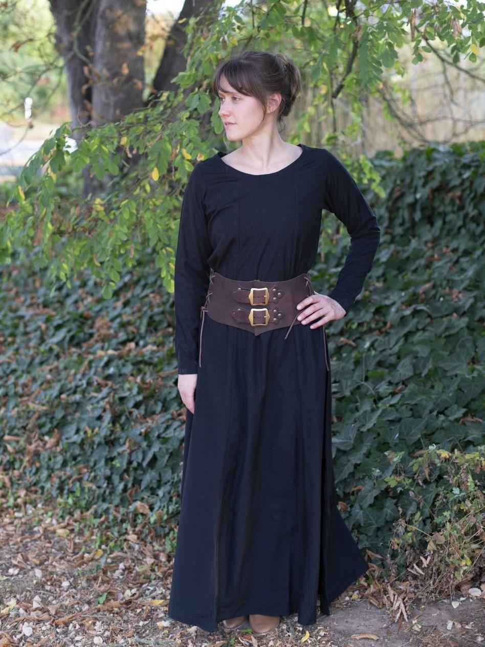 Ritterladen   Unterkleid schwarz   Mittelalter Shop 266e9ca080