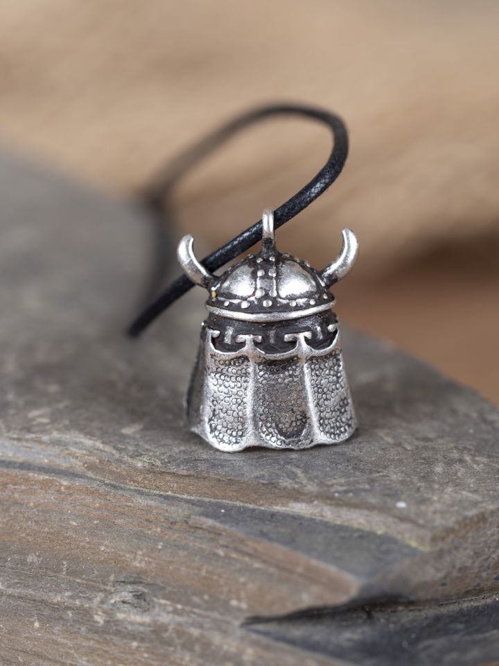 Amulett Wikingerhelm silber 2