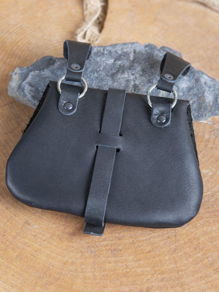 Frühmittelaltertasche schwarz 2