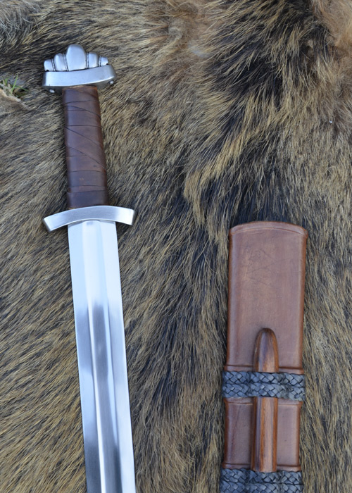 Wikingerschwert mit Scheide SK-B 2