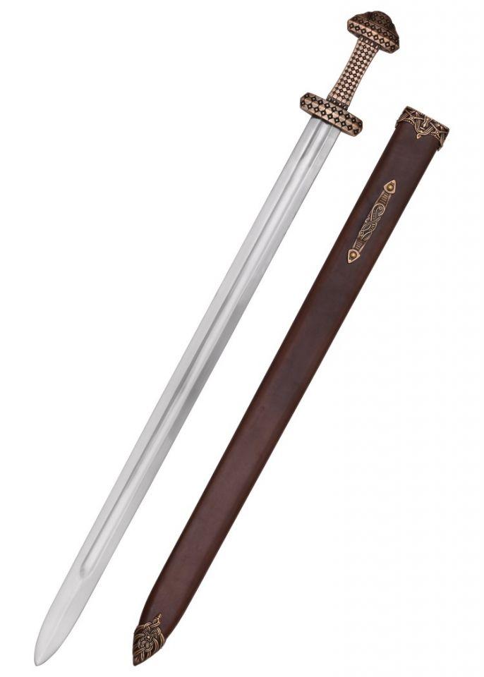 Wikingerschwert mit Bronzegriff 2