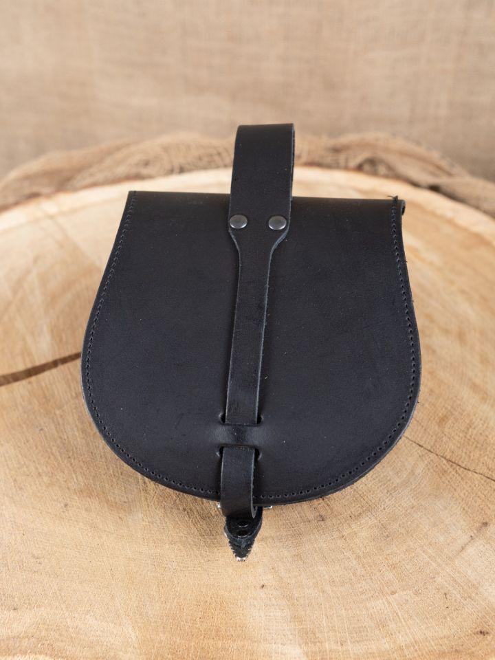 """große Wikingertasche """"Drache"""" schwarz 2"""