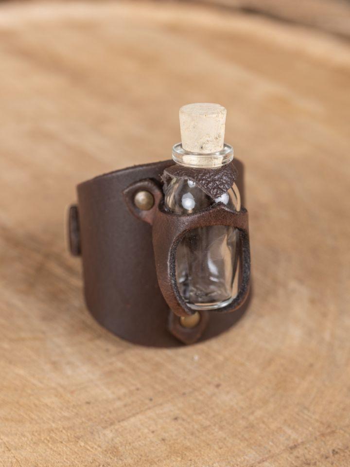 Armband mit Trankflasche braun 2