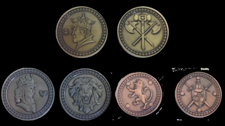 LARP-Münzen König 2
