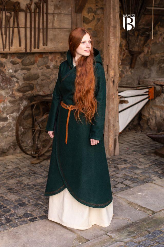 Mantel Enya grün 2