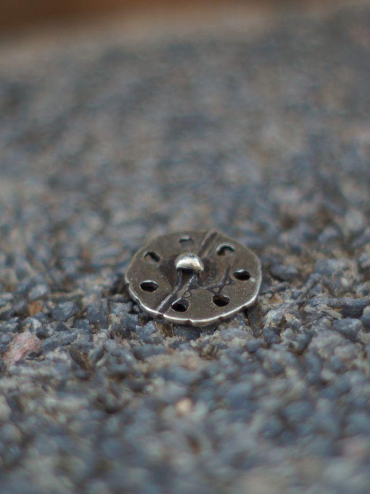 Keltischer Knopf silber einzeln 2