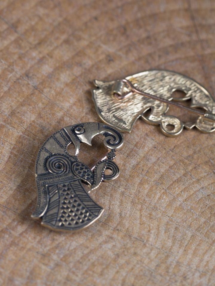 Raben-Fibeln Vendel bronze 2