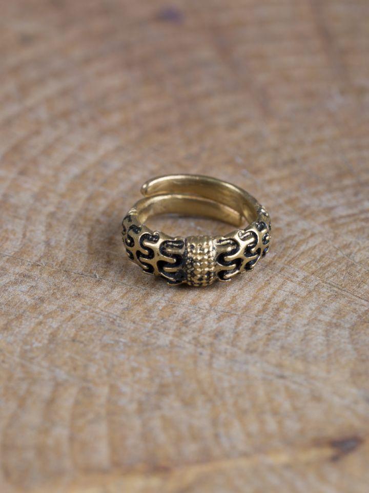 """Wikinger-Ring """"Falster"""" bronze 2"""
