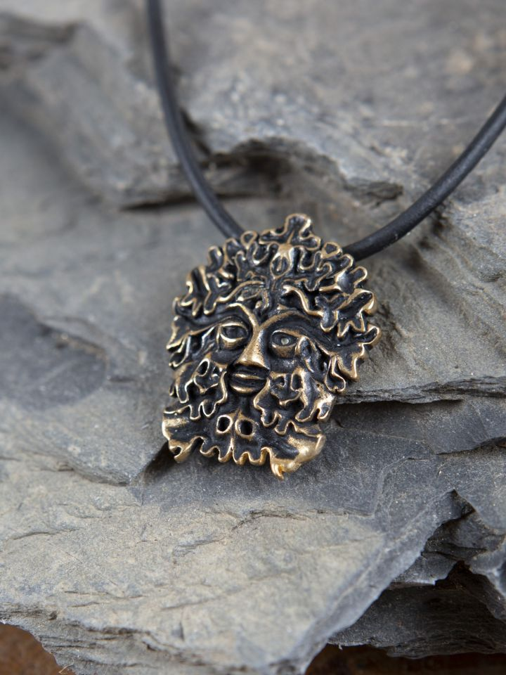 Amulett Grüner Mann 2
